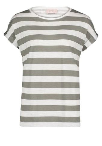 Cartoon T-Shirt »mit Streifen« kaufen
