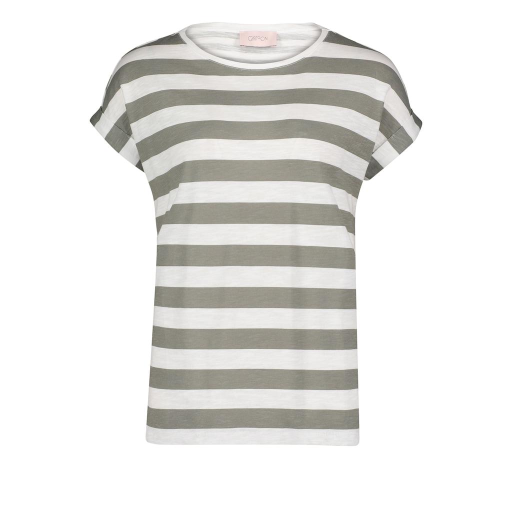 Cartoon T-Shirt »mit Streifen«