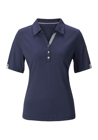 Casual Looks  Poloshirt mit Kontrast - Details kaufen