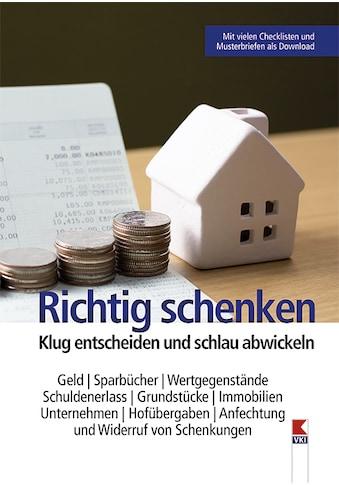 Buch »Richtig schenken / Manfred Lappe« kaufen
