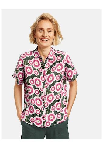 GERRY WEBER Klassische Bluse »1/2 Arm Bluse mit Blumen« kaufen