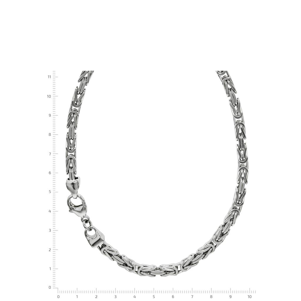 Firetti Königskette »Königskettengliederung 4-kant, 5,0 mm breit«, Made in Germany