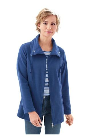 Classic Basics Fleece - Jacke mit Umlegekragen kaufen