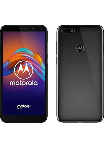 Motorola Moto e6 play Smartphone (13,97 cm / 5,5 Zoll, 32 GB, 13 MP Kamera) kaufen