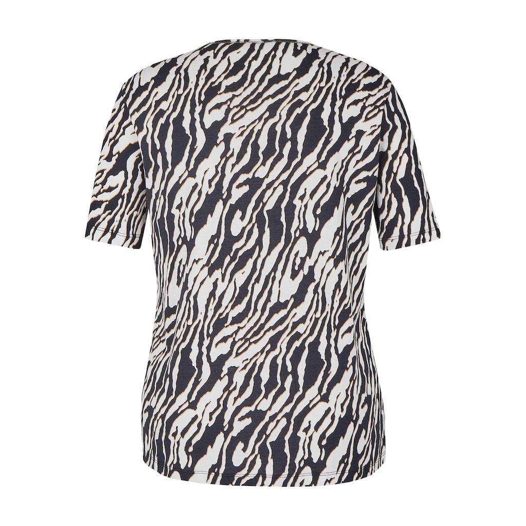 VIA APPIA DUE T-Shirt, mit Glitzerdetails