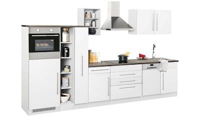 HELD MÖBEL Küchenzeile »Samos«, ohne E - Geräte, Breite 350 cm kaufen
