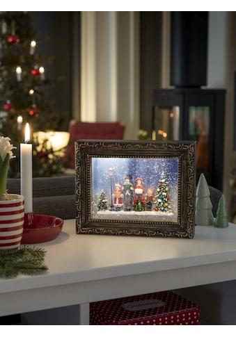 KONSTSMIDE LED Bilderrahmen mit Weihnachtschor kaufen