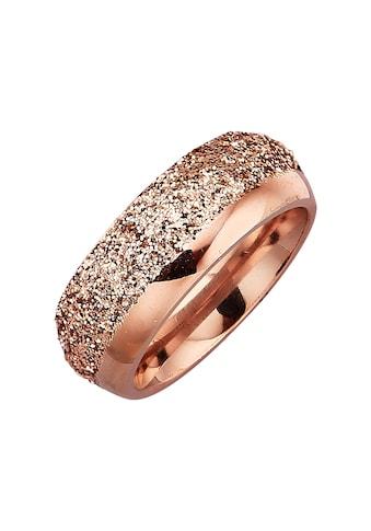 Jacques Lemans Fingerring »Edelstahl PVD rotvergoldet«, Ring kaufen