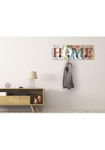 Artland Garderobenpaneel »Buntes zu Hause in taktvollen Farben«, platzsparende... kaufen