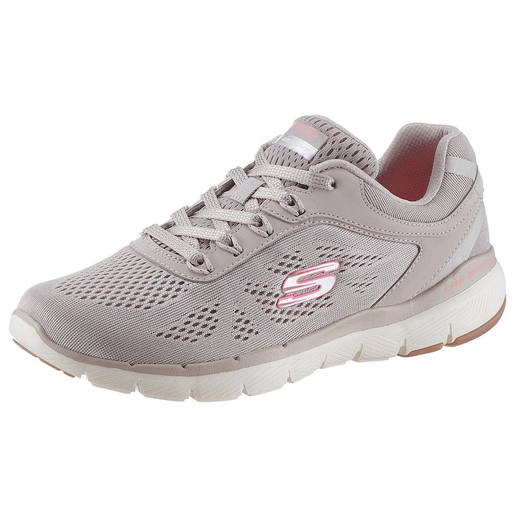 Skechers Sneaker »Flex Appeal 3.0 - Moving Fast«, mit Air Cooled Memory Foam