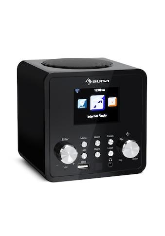 Auna Internetradio Radiowecker WLAN Radio Netzwerkplayer App - Control »IR 120« kaufen
