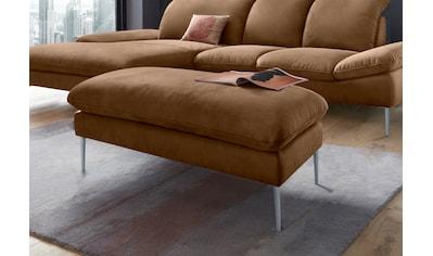 W.SCHILLIG Hocker »enjoy&MORE«, Füße silber matt, Breite 106 cm kaufen