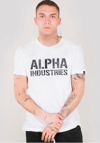 Alpha Industries Rundhalsshirt »CAMO PRINT T« kaufen