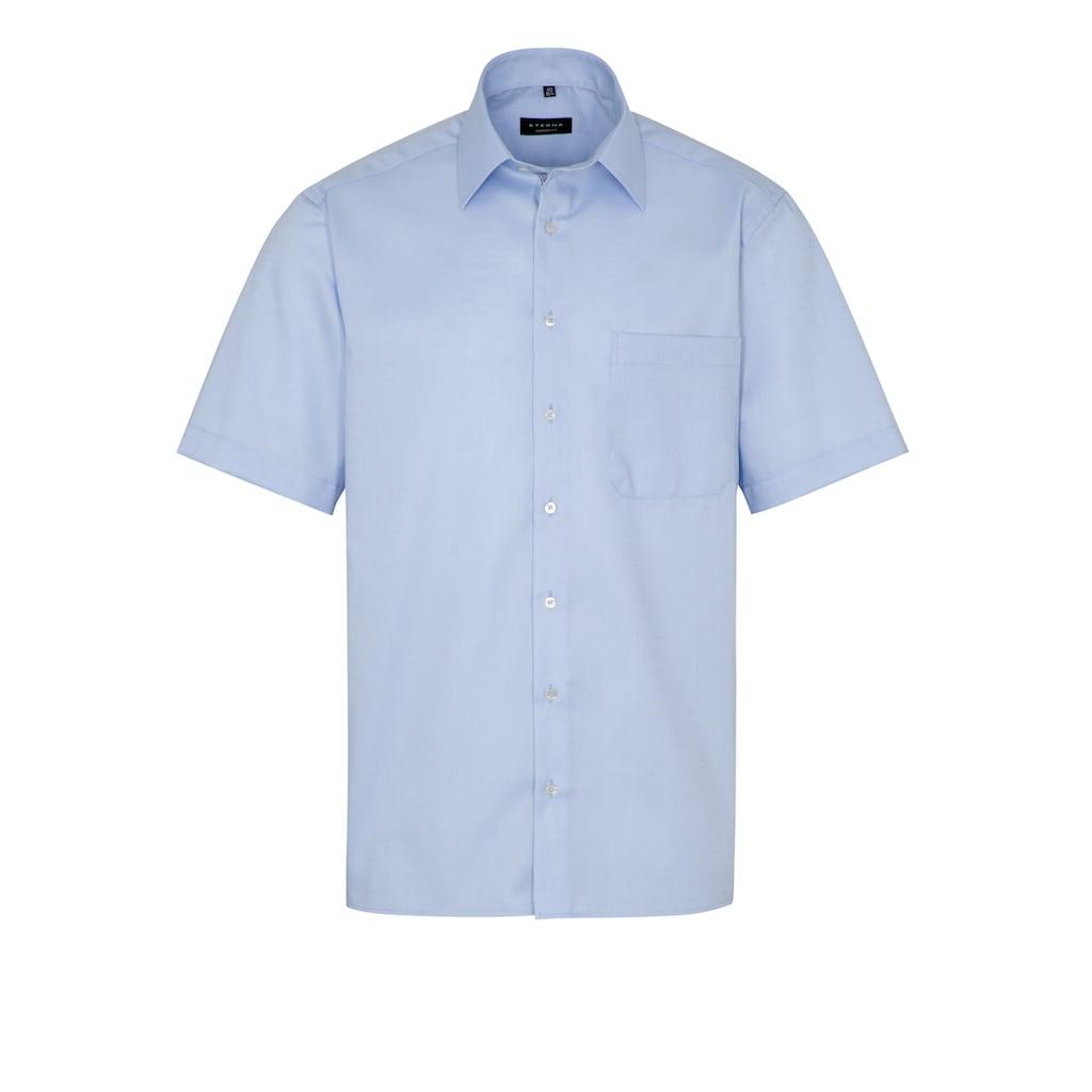 Eterna Businesshemd »COMFORT FIT«, strukturierte Kurzarmhemd