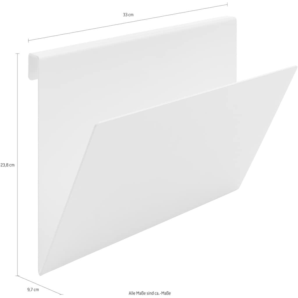 Müller SMALL LIVING Ablageelement »FLAI Papier- und Zeitschriftenablage«, geeignet für Kanten mit 18 mm Materialstärke