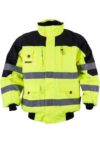 Arbeitsjacke »4629-9000 Warnschutz-Pilotenjacke«, gelb kaufen