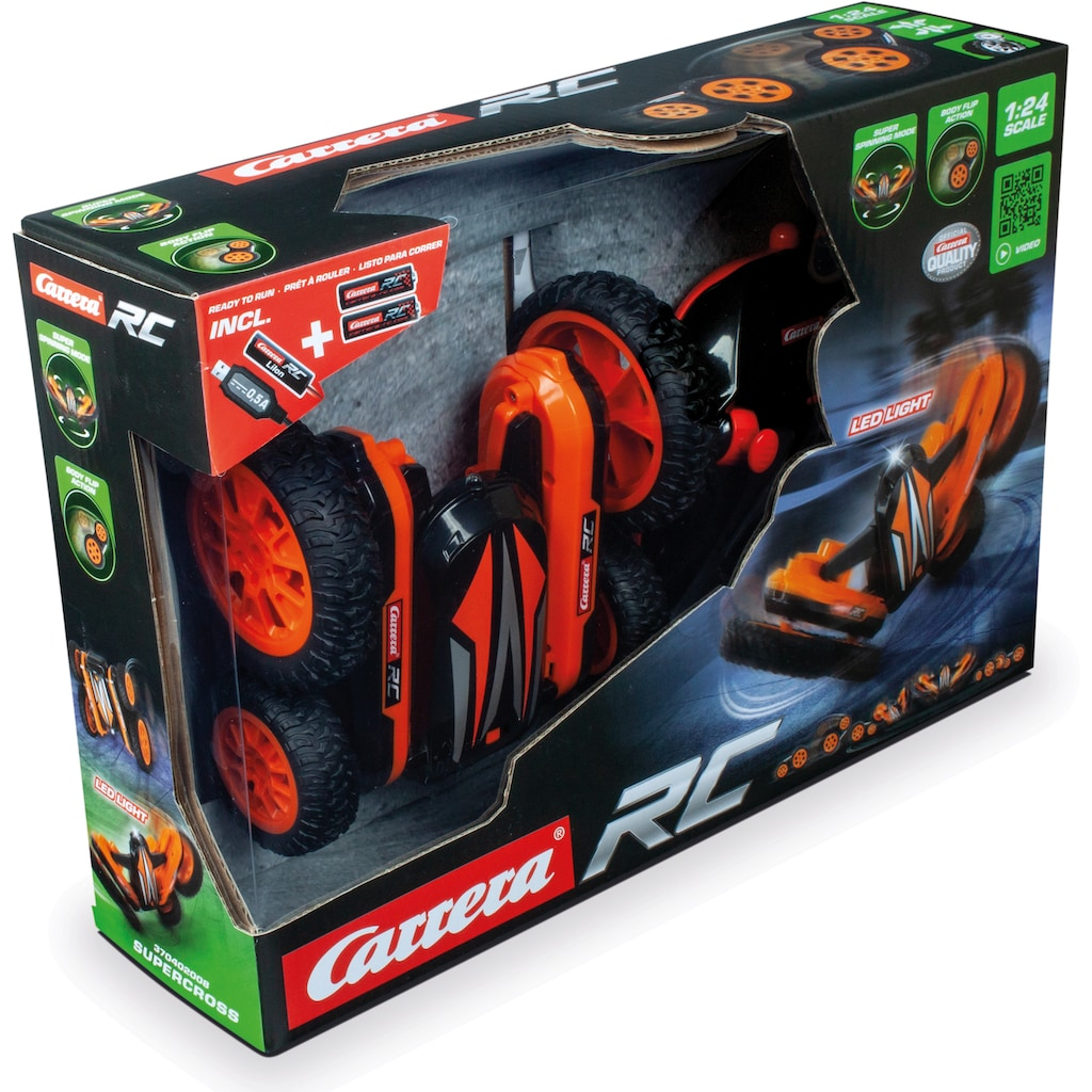Carrera® RC-Buggy »Carrera® RC - Supercross, 2,4GHz«, mit LED Licht