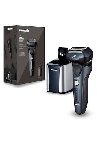 Panasonic Elektrorasierer »ES-LV97-K803«, Clean&Charge-Station, ausklappbarer... kaufen