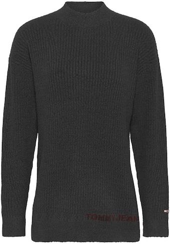 Tommy Jeans Stehkragenpullover »TJW LOFTY TURTLENECK SWEATER«, mit Tommy Jeans... kaufen