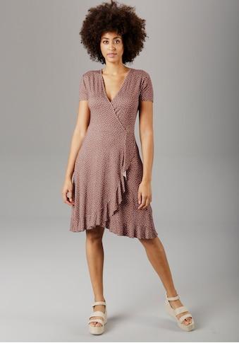 Aniston SELECTED Sommerkleid, mit Volant kaufen