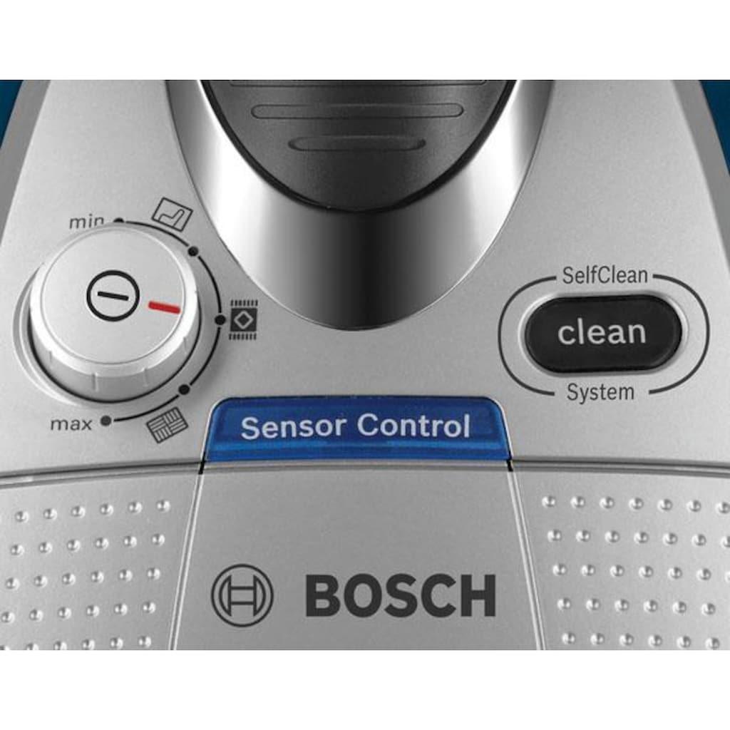 BOSCH Bodenstaubsauger »BGS5FMLY2«, 700 W, beutellos, mit Spielzeugfalle, HEPA Hygienefilter ideal für Allergiker