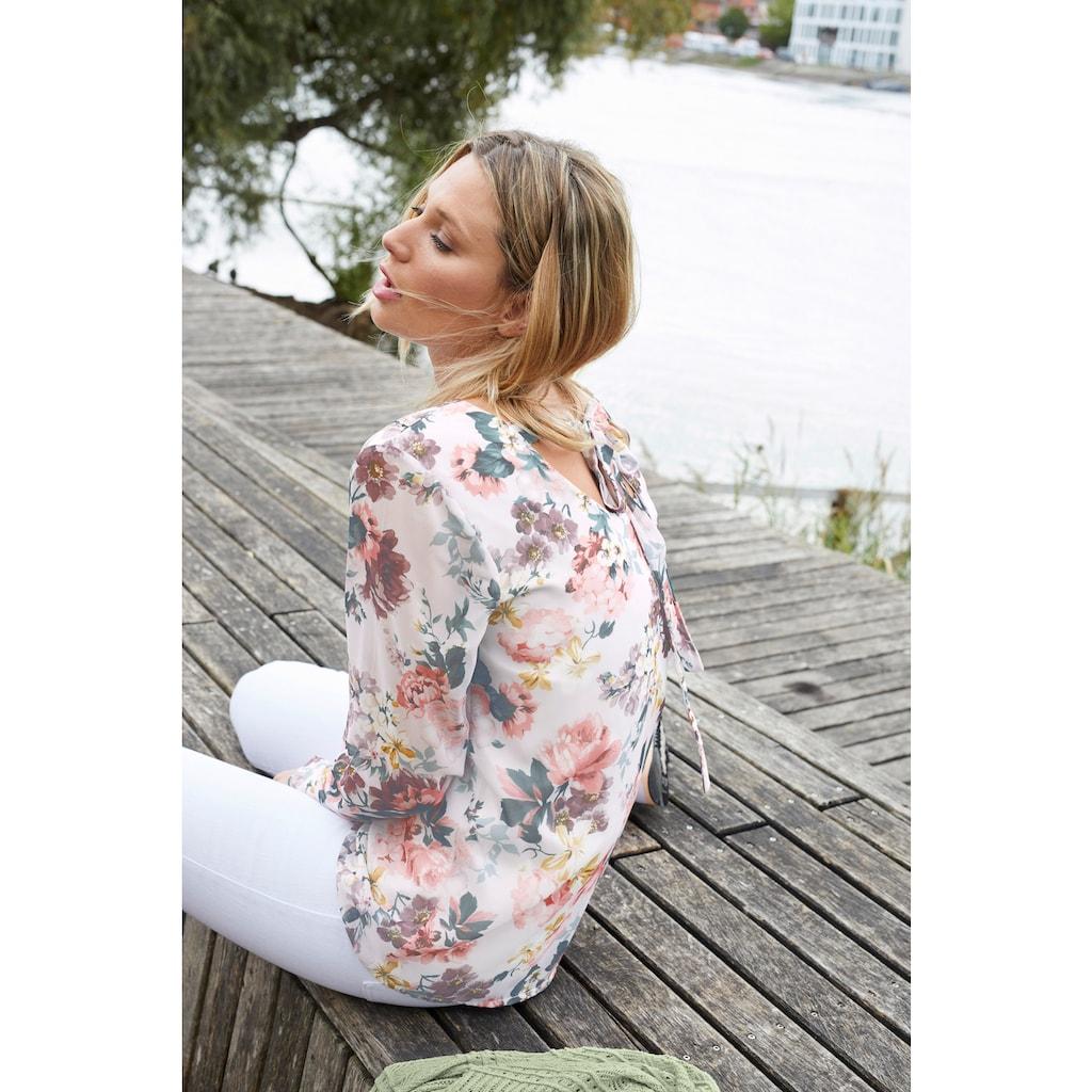 Aniston CASUAL Strickjacke, im Ajourmuster-Mix - NEUE KOLLEKTION