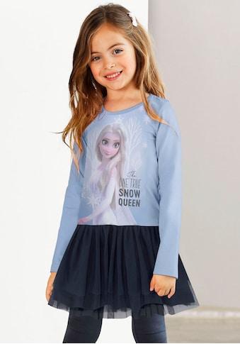 Disney Frozen Jerseykleid »FROZEN«, mit zartem Tüllrock kaufen