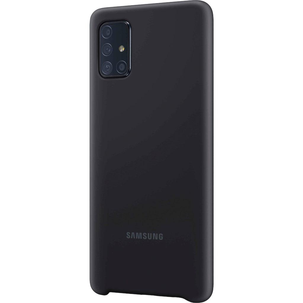 Samsung Smartphone-Hülle »EF-PA715 Silicone Cover für Galaxy A71«, Galaxy A71