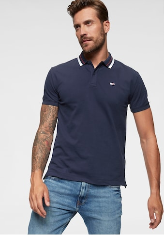 Tommy Jeans Poloshirt »TJM CLASSICS TIPPED STRETCH POLO« kaufen