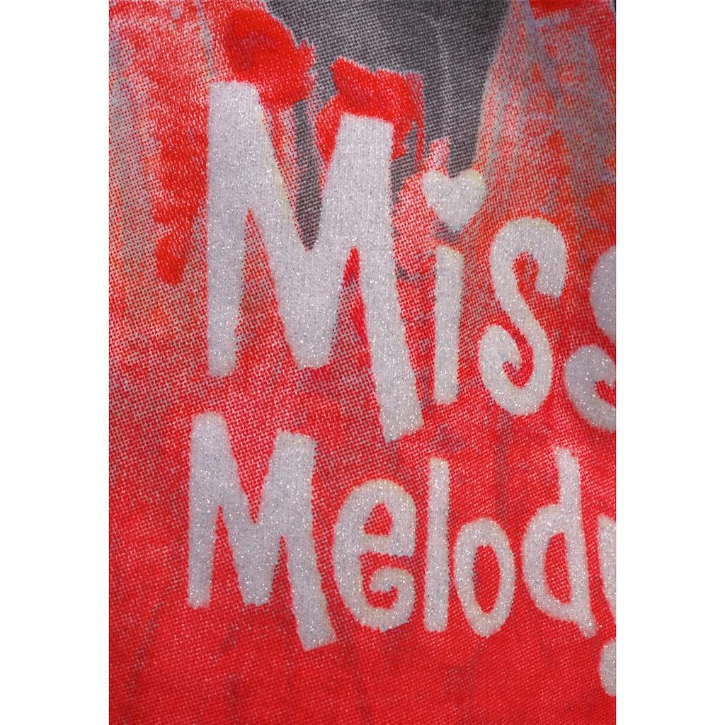 Miss Melody Zipfelshirt, mit schönem Pferde-Motiv