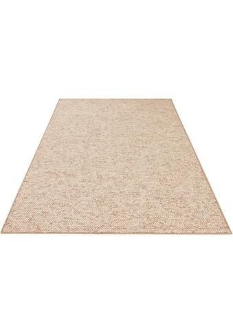 BT Carpet Teppich »Wolly 2«, rechteckig, 12 mm Höhe, Woll-Optik, Hoch-Tief-Effekt,... kaufen