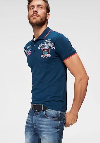 Cipo & Baxx Poloshirt »Rowing Club«, bis Gr. 5XL kaufen