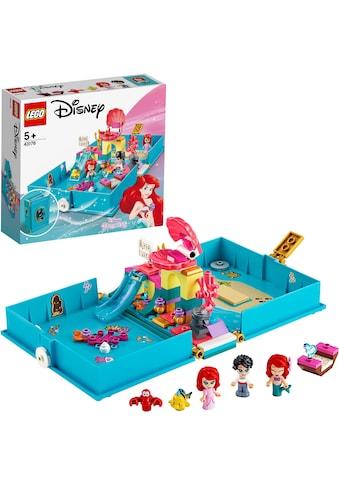 """LEGO® Konstruktionsspielsteine """"Arielles Märchenbuch (43176), LEGO® Disney Princess™"""", Kunststoff, (105 - tlg.) kaufen"""