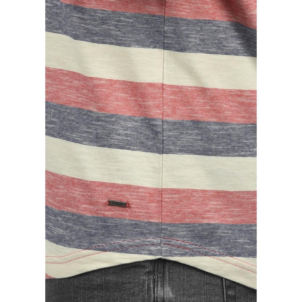 Solid Tanktop »Whicco«, ärmelloses Shirt mit Streifen