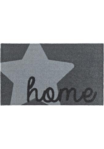 Zala Living Fußmatte »Star Home«, rechteckig, 7 mm Höhe, Schmutzfangmatte, mit Spruch,... kaufen