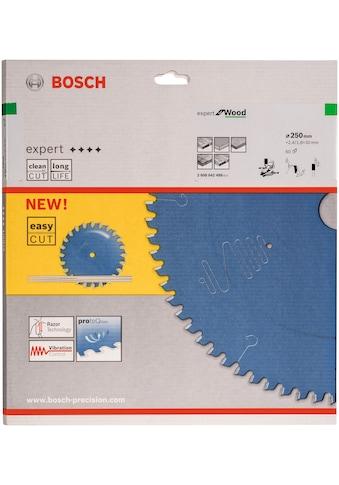 BOSCH Kreissägeblatt »Kreissägeblatt Expert for Wood«, 250 x 30 x 2,4 mm, 60 kaufen