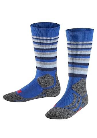 FALKE Skisocken »SK2 Stripes Skiing«, (1 Paar), für extra warme Füße kaufen