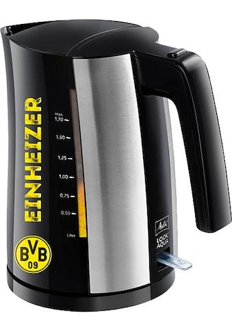 Melitta Wasserkocher, Look® Aqua BVB -  Edition, 1,7 Liter, 2400 Watt kaufen
