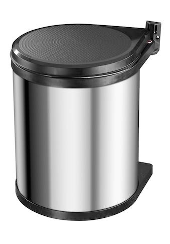 Hailo Einbaumülleimer »Compact-Box M«, edelstahlfarben, Fassungsvermögen ca. 15 Liter kaufen