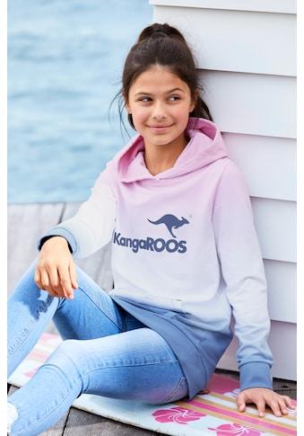 KangaROOS Kapuzensweatshirt, im modischen Farbverlauf kaufen