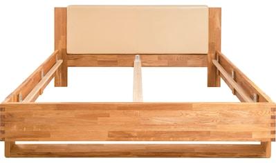 andas Bett »Akra«, aus schönem massivem Eichenholz, mit einem pflegeleichtem... kaufen