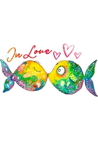 Wall-Art Wandtattoo »Verliebte Fische« kaufen