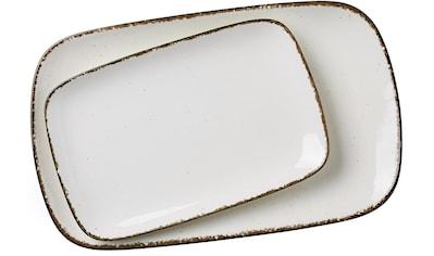 Ritzenhoff & Breker Servierplatte »Casa«, (Set, 2 tlg., 1 Platte groß, 1 Platte klein) kaufen