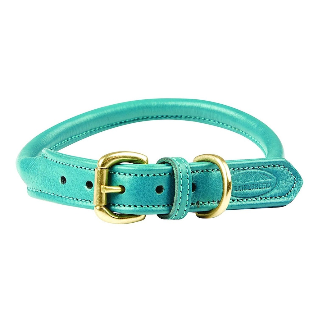 WeatherBeeta Hunde-Halsband »Roll Leder Hundehalsband«, Textil, (1 St.)