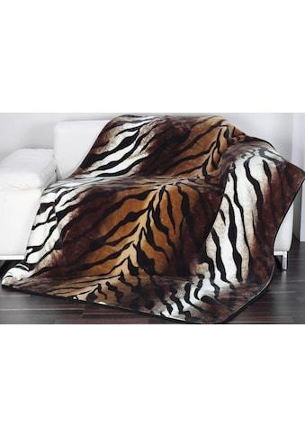 Wohndecke »Königstiger«, Gözze kaufen