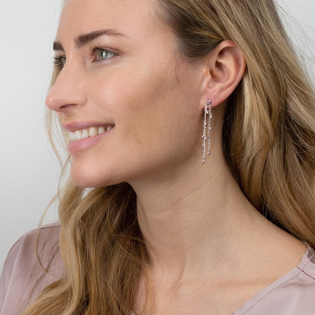 AILORIA Paar Ohrhänger »LAVANDE Ohrringe«, mit Silberkristall