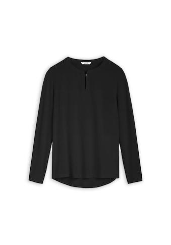 Sandwich Shirtbluse, mit langen Ärmeln kaufen
