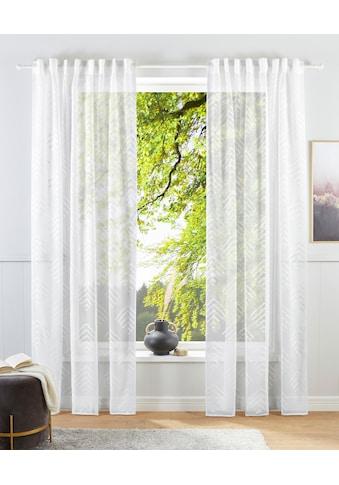 Guido Maria Kretschmer Home&Living Gardine »Gordon«, transparent, gewebt mit... kaufen