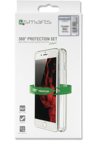 4smarts Smartphone-Hülle »360° Protection Set für iPhone XR (2018)«, iPhone XR, Cover kaufen