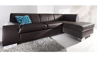 DOMO collection Ecksofa, wahlweise mit Bettfunktion kaufen